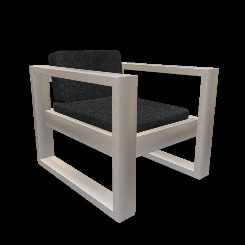 Aluminium Sessel