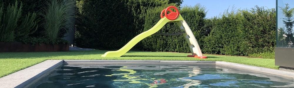 Edelstahl-Pool
