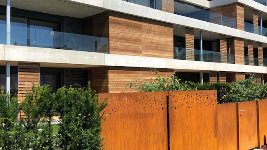 Moderne Architektur in Seengen