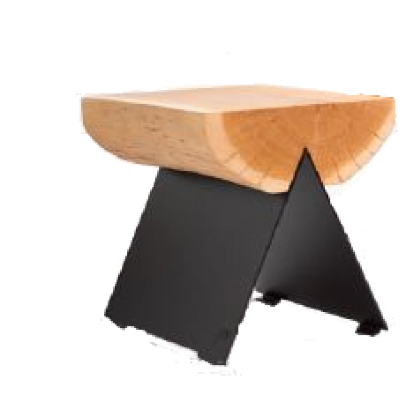 Klotzhocker, 8 mm Corten